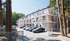 Haus Borgata Henkenhagen mit Parkmöglichkeiten