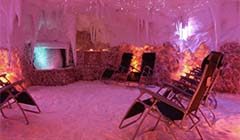 Salzgrotte im Hotel Bajkal
