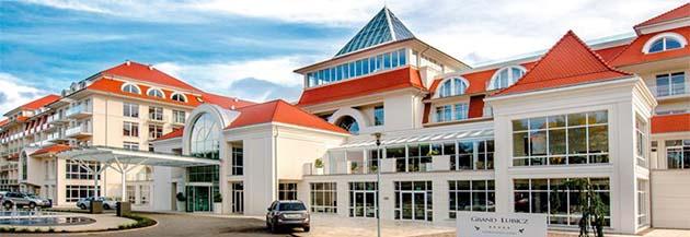 Gesamtansicht Hotel Grand Lubicz Stolpmünde
