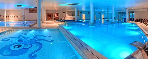 Schwimmbad-Panorama Hotel Grand Lubicz
