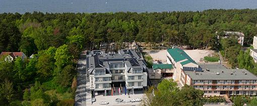 Hotel Cristal Spa 100 Meter vom Ostseestrand