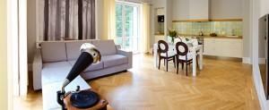 Appartement der Kategorie de lux Löwenstein Konstantinsbad