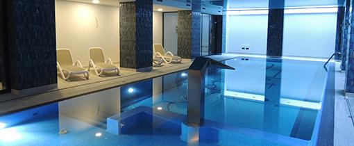 Schwimmbecken im Hotel Ewerdin Swinemünde