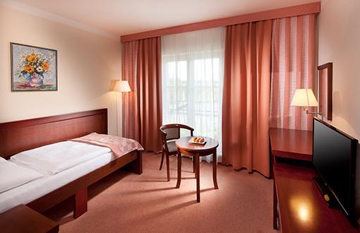 Wohnbeispiel Einzelzimmer im Hotel Francis Palace