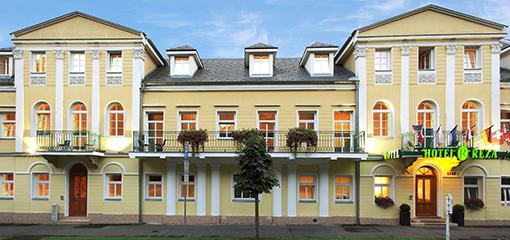 Panaoramabild Hotel Reza Františkový Lázne
