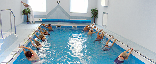 Wassergymnastik im Haus Palace I