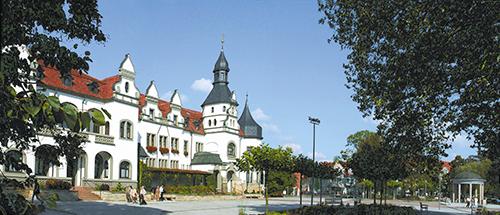 Kurhaus von Bad Schmiedeberg Panorama