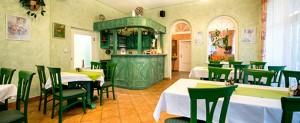 Raum des Restaurants Sanatorium Mariot Franzensbad