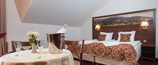 Doppelzimmer im Hotel Buczynski