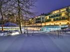 Binz-Therme Rügen Dämmerung und Winter