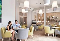 Café des Hotels Kaisers Garten II