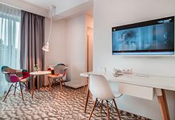 Teilansicht eines Zimmers im West Baltic Resort
