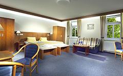 Wohnbeispiel Doppelzimmer Hotel Reza