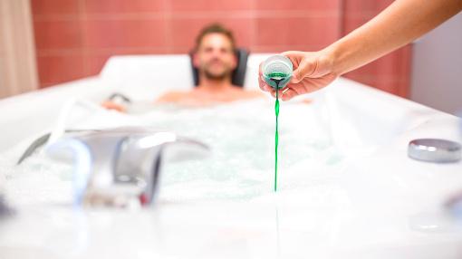 Bad mit Zusätzen