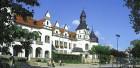 Kurmittelhaus an der Promenade in Bad Schmiedeberg