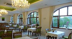 Teilansicht Speisesaal Hotel Buczyński