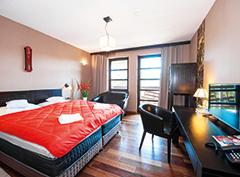 Wohnbeispiel Doppelzimmer im Hotel Sudetia