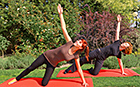 Gymnastik im Freien Hotel Kormoran