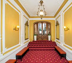 Eingangsbereich Hotel Luisa Franzensbad