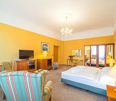 Wohnbeispiel Doppelzimmer der Komfort-Kategorie im Hotel Luisa