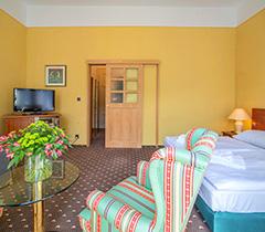 Wohnbeispiel Doppelzimmer der Standard-Kategorie im Hotel Luisa