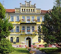 Hotel Luisa Franzensbad von vorn