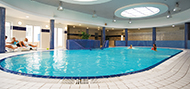 Schwimmbad im Hotel Wolin Misdroy