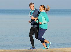 Strand-Joggen am Hotel ProVita