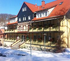 Kurhotel Bad Suderode Winterbild