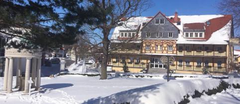Winterliches Kurhotel Bad Suderode