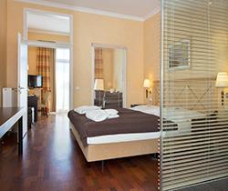 Wohnbeispiel Doppelzimmer Hotel Vier Jahreszeiten Zingst