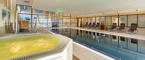 Whirlpool und Schwimmbacken Hotel Vier Jahrezeiten Zingst