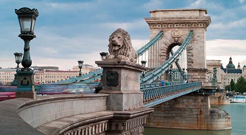 Budapests berühmteste Brücke