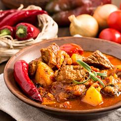Gulasch Ungarische Küche