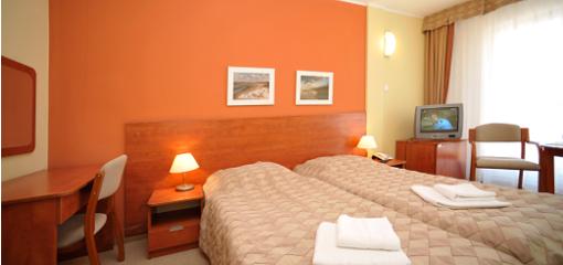 Wohnbeispiel im Haus 2 des Hotels Baltyk