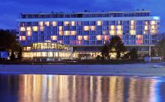 Abendliches Hotel Baltyk