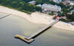 Hotel Baltyk aus der Vogelperspektive