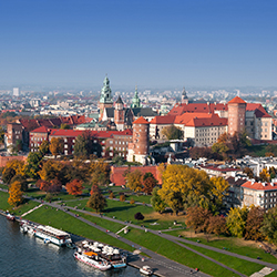 Wawel-Festung bei Kraków · Krakau