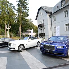 Autos am Hotel Esplanade Marienbad