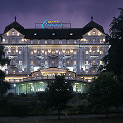 Hotel Esplanade Marienbad nachts