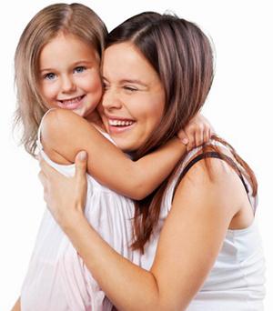 Wellnessprogramm für Mutter und Tochter