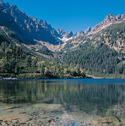 Hohe Tatra bei Poprad