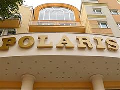 Hotel Polaris Außen-Teilansicht