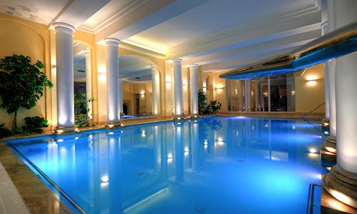 Schwimmbecken im Hotel Polaris Swinemünde