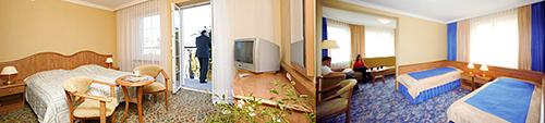 Wohnbeispiele Zimmer im Hotel Polaris