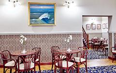 Interieur des Kolberger Hotels Jantar Spa