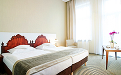 Teilansicht Lux-Doppelzimmer