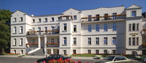 Gesamtansicht Hotel Jantar Kolberg