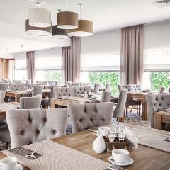Neues Speisezimmer (Restaurant) im Haus Max