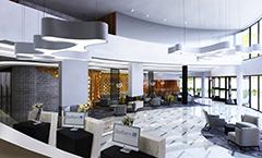 Radisson Blu Resort (Zeichnung) Lobby